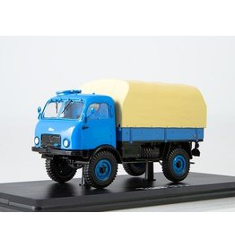 Tatra TATRA-805 FLATBED TRUCK WITH TILT(blue/beige)