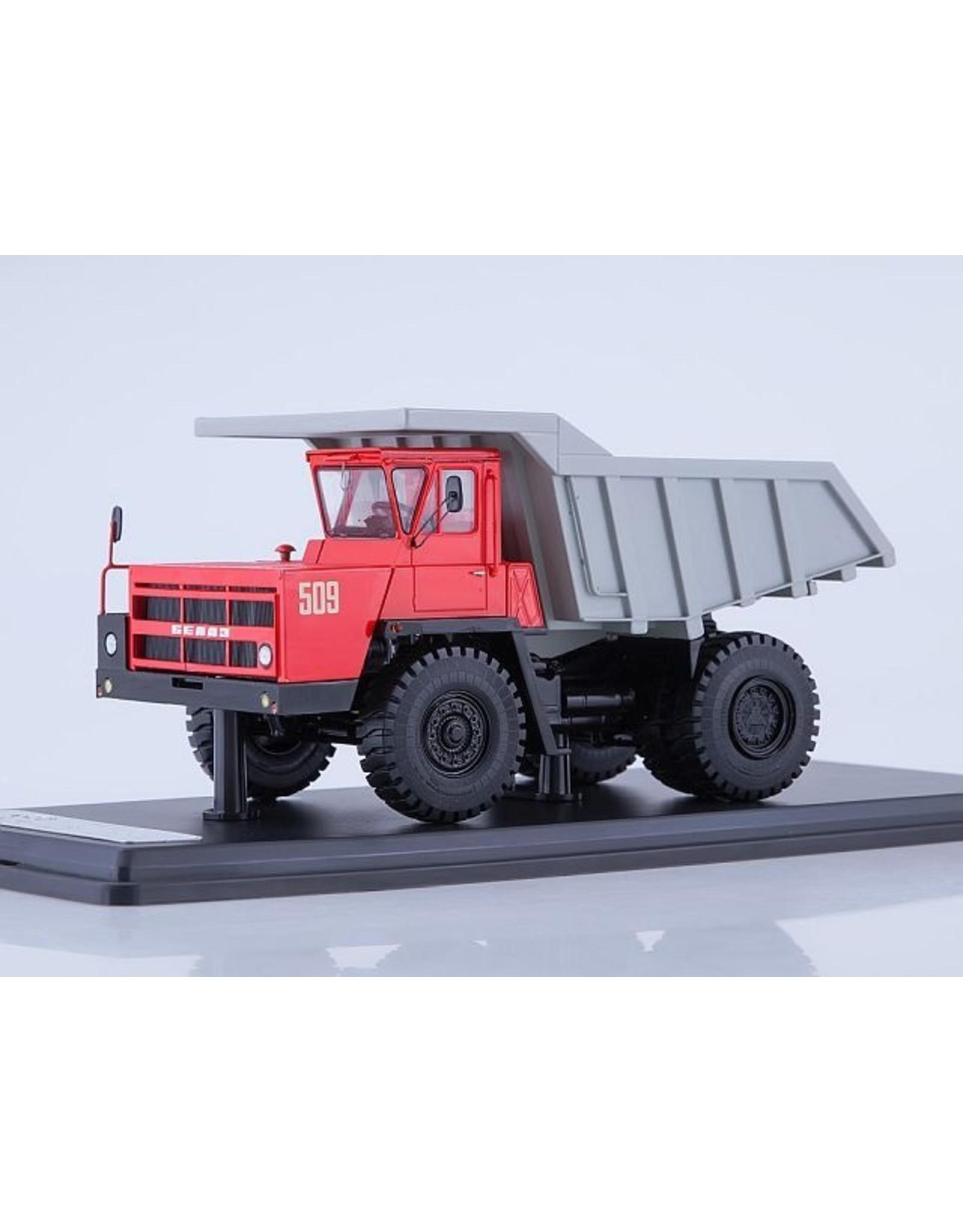 BelAZ BELAZ-7522 QUARRY DUMP TRUCK(red/grey)