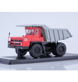 BelAZ BELAZ-7522 QUARRY DUMP TRUCK(red/grey)