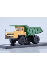 BelAZ BELAZ-7522 QUARRY DUMP TRUCK(yellow/green)