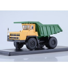 BelAZ BELAZ-7522 QUARRY DUMP TRUCK(yellow/green)
