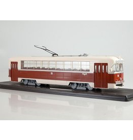 RVZ(Riga Carriage Works). TRAMWAY RVZ-6M2(creme/brown)