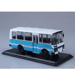 PAZ(Pavlovo Bus Company) PAZ-3205 suburban bus.