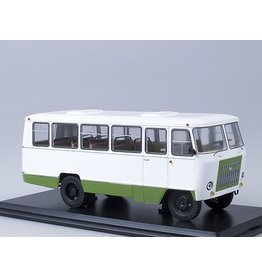 AvtoKuban Kuban G1A1-02 suburban bus(white/green).