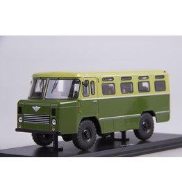 GAZ Soviet Army bus AS-38(green/khaki).