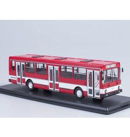 LIAZ(Liberecké Automobilové Zavody) LIAZ-5256 city bus(red/white).