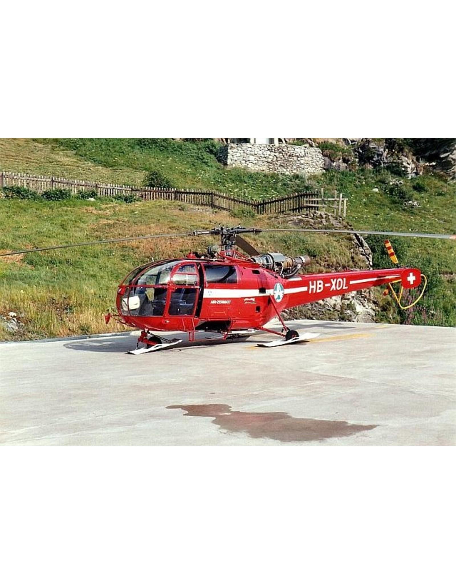 Sud Aviation. ALOUETTE III-AIR ZERMATT  HB-XOL