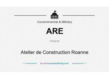 ATELIER DE CONSTRUCTION ROANNE