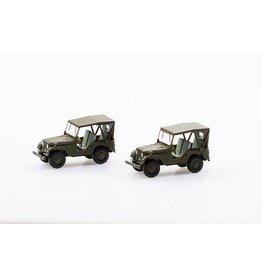 Willys Jeep SET WITH 2 WILLYS M38A1 ARMY JEEP