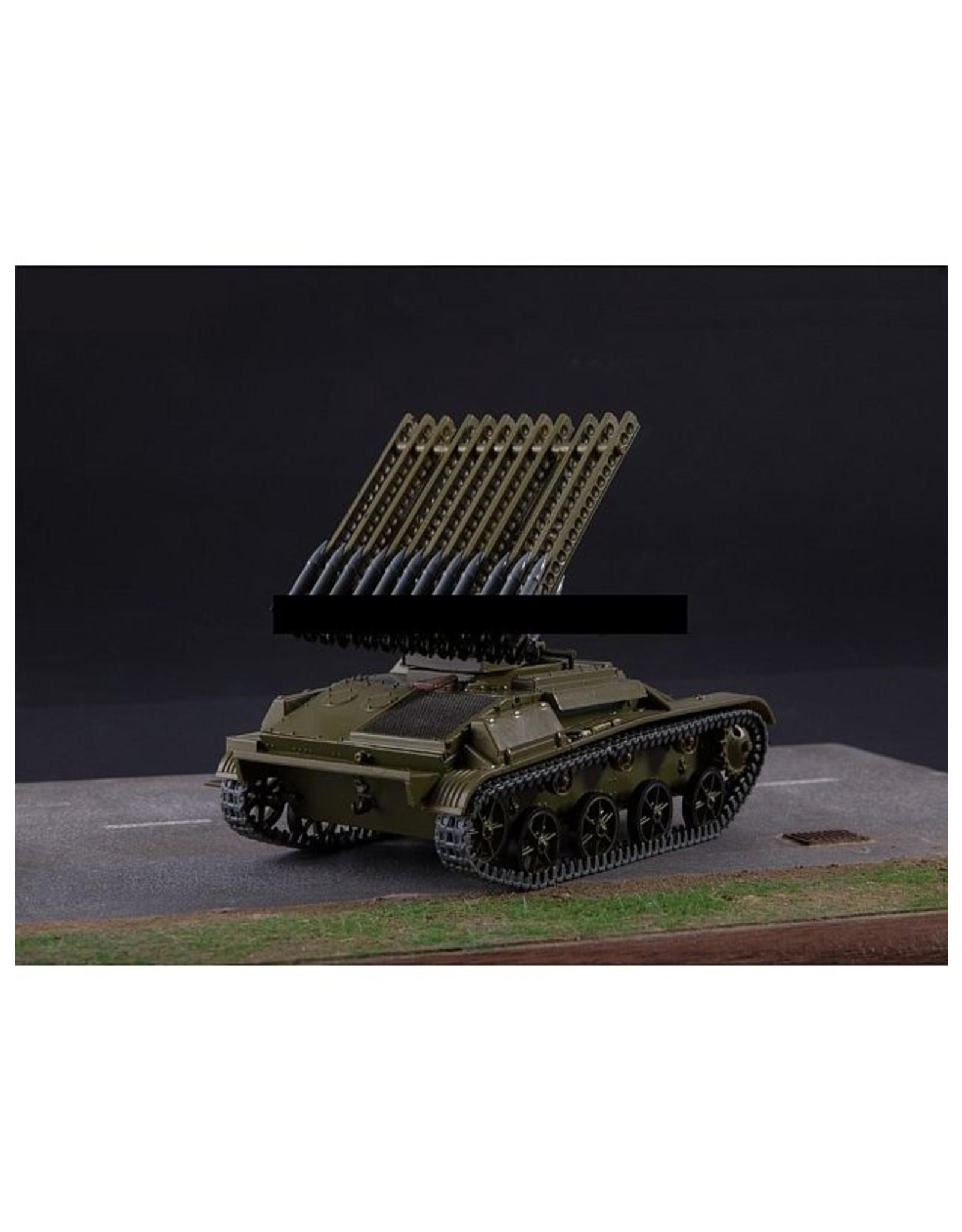 GAZ BM-8-24(T-60)Russian artillery tank(+ Russian magazine)