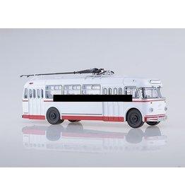 Kiev Electric Transportation Plant KTB-4 Trolleybus(white)