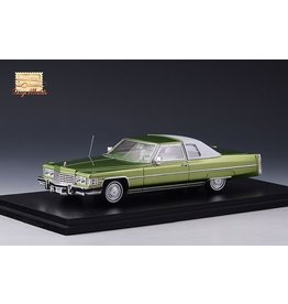 Cadillac(General Motors) Cadillac coupe DeVille 1974(Persian lime)