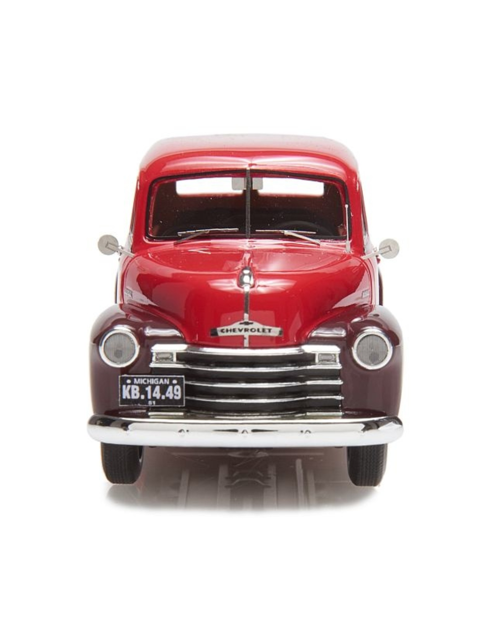 Chevrolet CHEVROLET SUBURBAN-DUBBELE ACHTERDEUR(1949-53)chestnut brown/red.