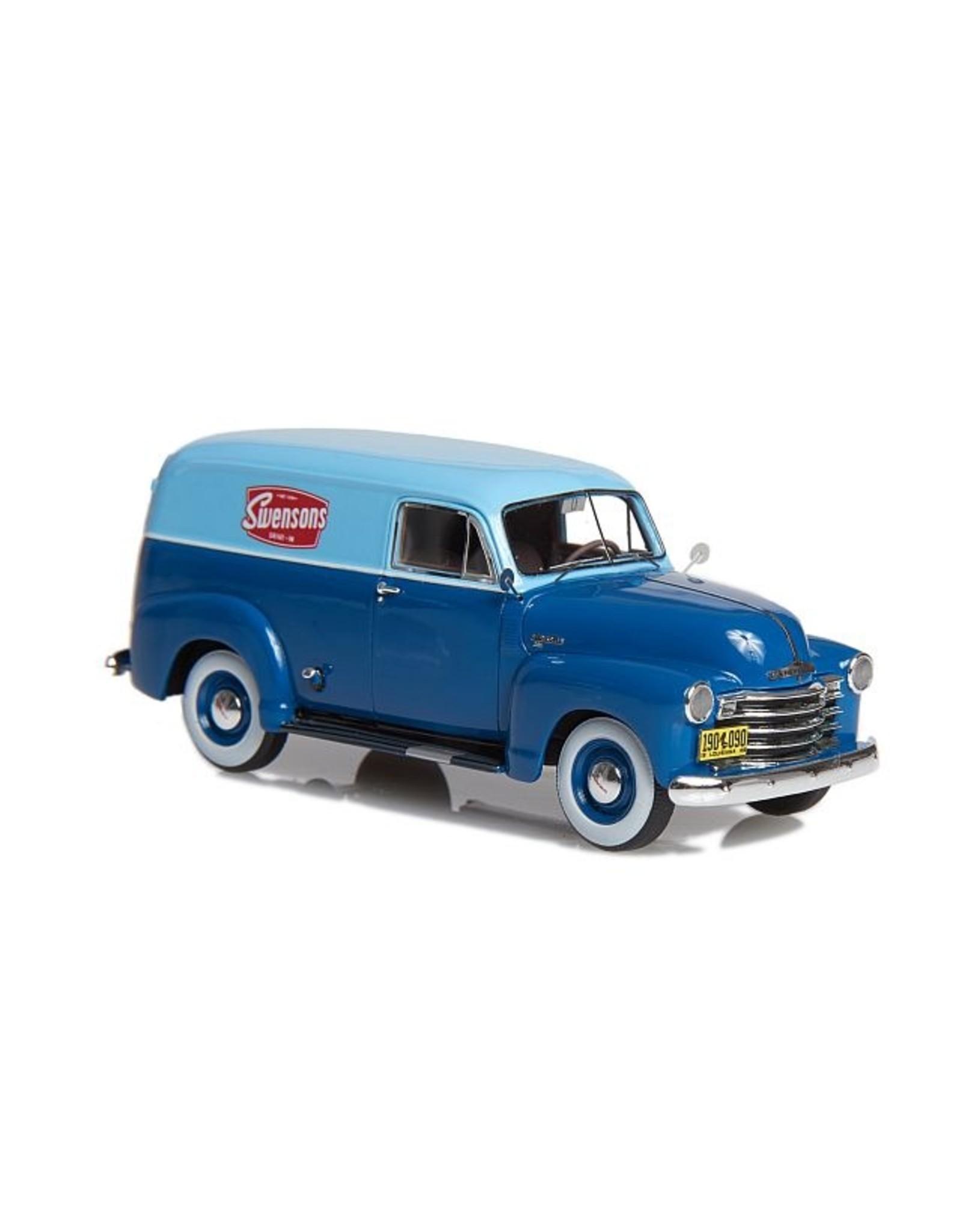 Chevrolet CHEVROLET 3100 DELIVERY VAN(1949-53)dark blue/blue.