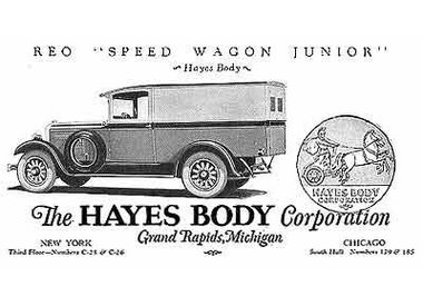 Cord by Hayes Body Company.