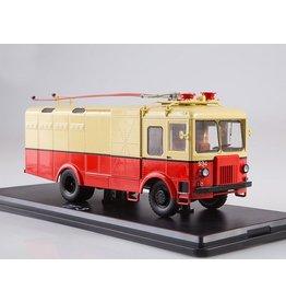 SVARZ TG-3 freight trolleybus(red/beige)1964