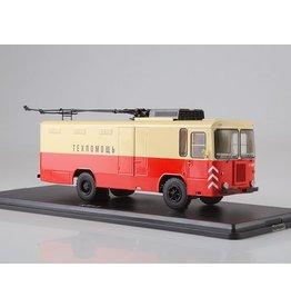 Dzerzhinsky Plant Kiev KTG-1 freight trolleybus(red/beige)1976