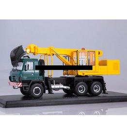 Tatra Truck with excavator UDS-114A(Tatra 815)green/yellow