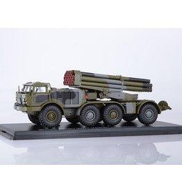 "ZiL MLRS BM-27 ""Uragan"" on ZiL-135 8x8 chassis."