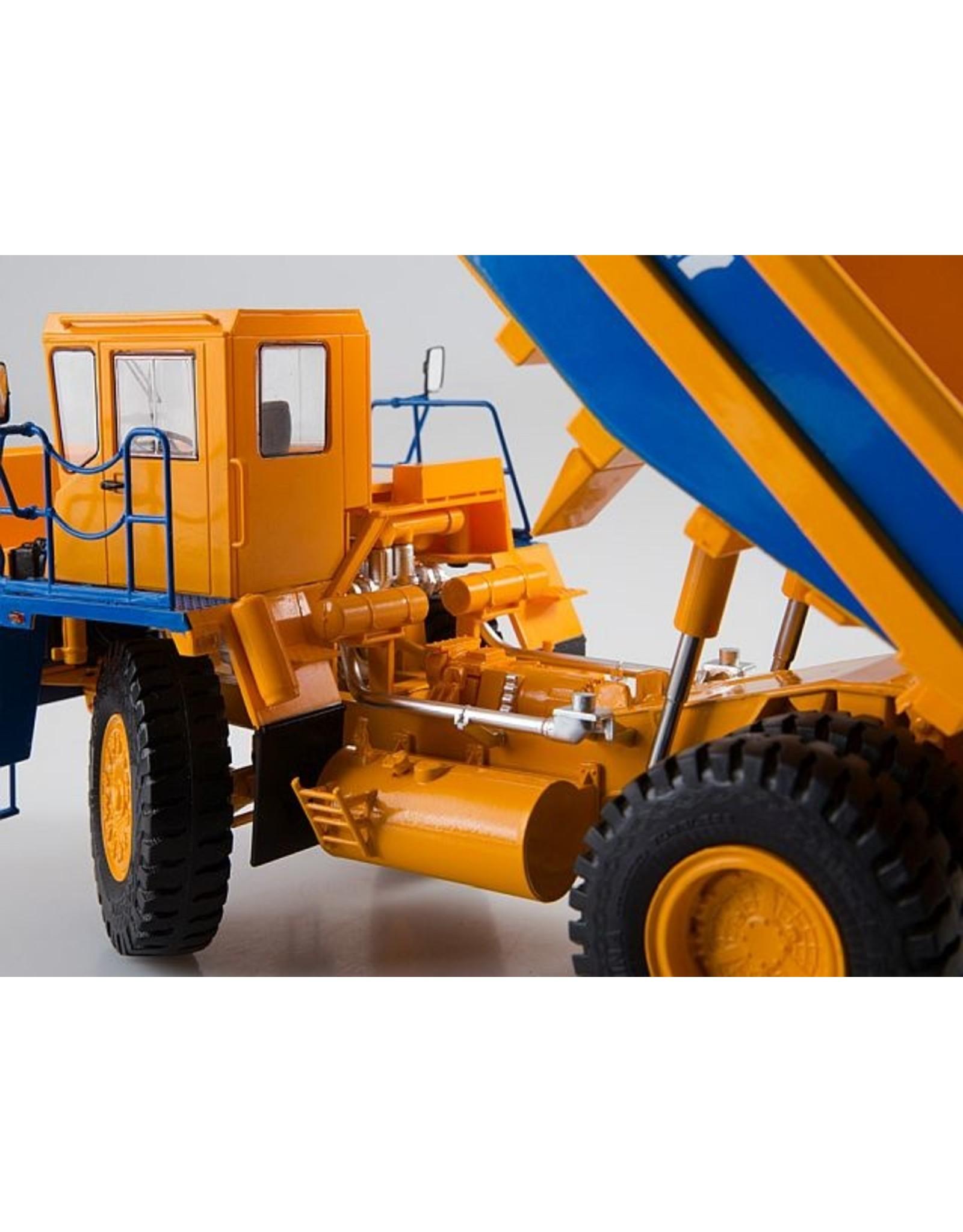 BelAZ BELAZ-7547 quarry dump truck(yellow/blue).