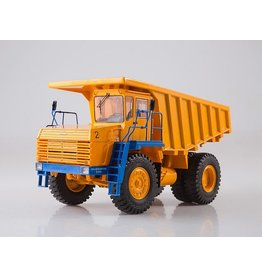 BelAZ BELAZ-7547 quarry dump truck(yellow/blue).