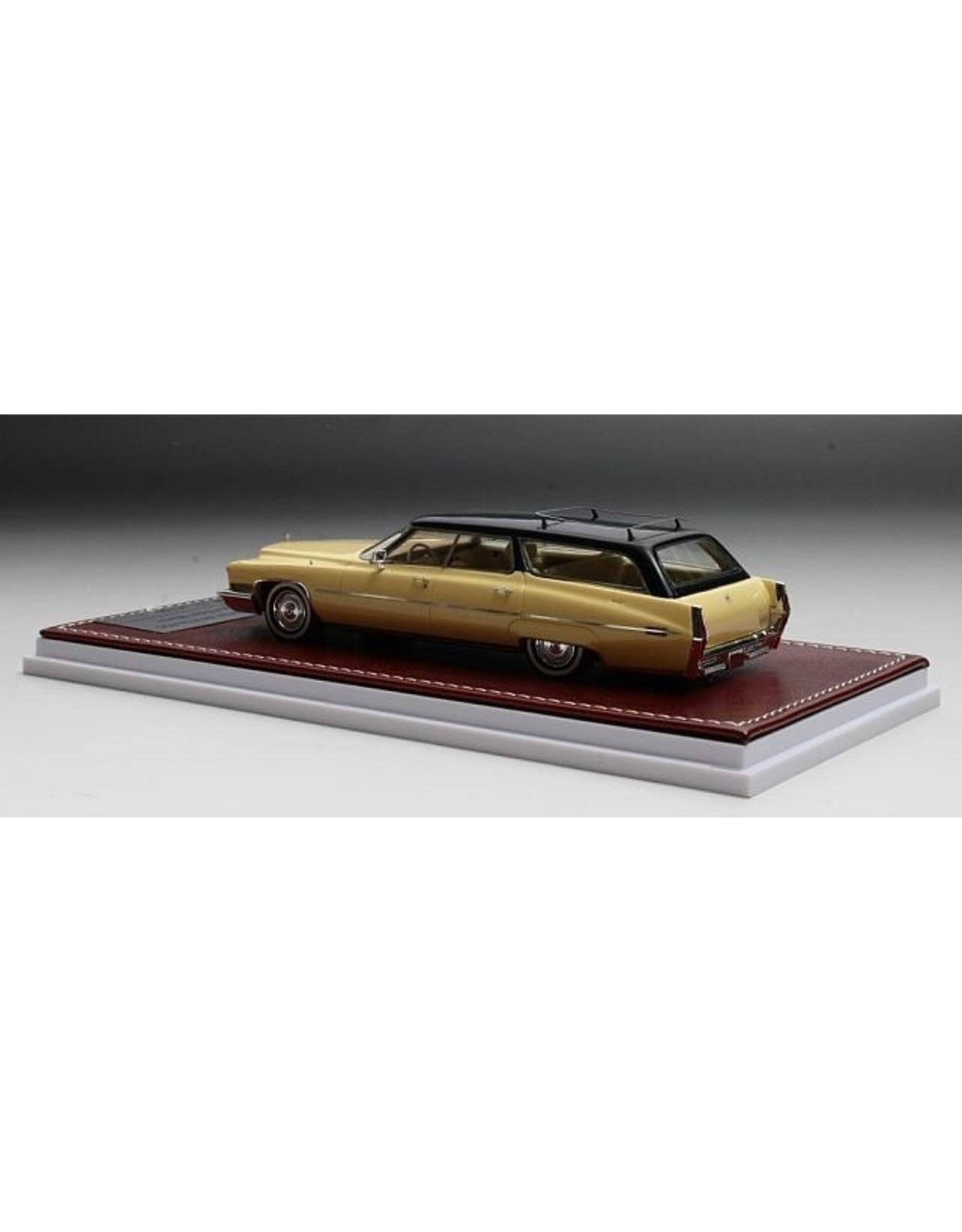 Cadillac by ASC Cadillac DeVille ASC Wagon(Dean Martin)1972(yellow/black.