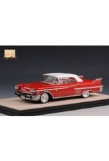 Cadillac(General Motors) Cadillac Series 62 Convertible(closed top)1958(red).