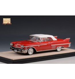 Cadillac(General Motors) Cadillac Series 62 Convertible(closed top)1958(red).