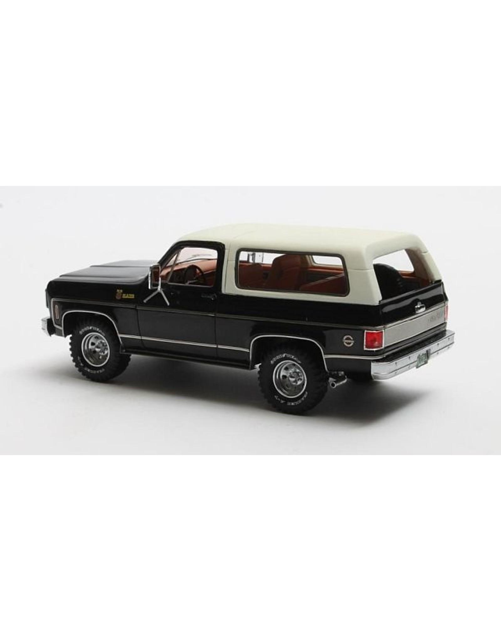 Chevrolet Chevrolet Blazer K5(1978)black/white