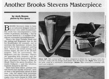 SCIMITAR BY BROOKS STEVENS