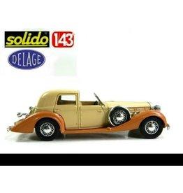 Delage Delage DS 120 (1935) brown/creme light brown