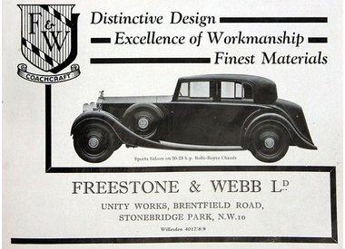 Rolls-Royce Freestone & Webb