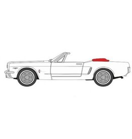 Ford USA Ford Mustang convertible(white)