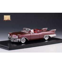 Cadillac(General Motors) Cadillac Eldorado Biarritz(open top)1957(Castile marron metallic)