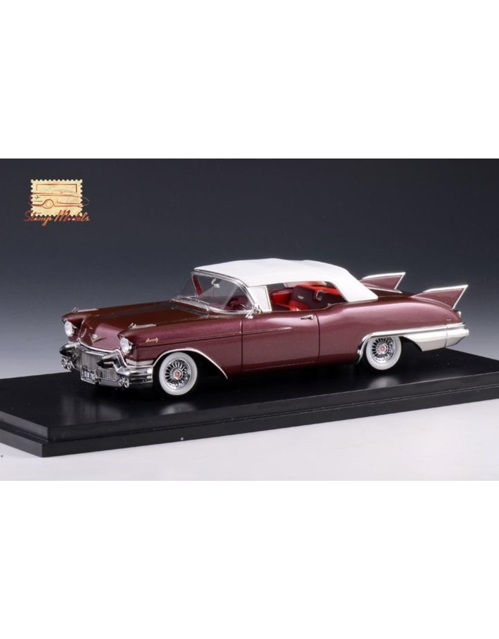 Cadillac(General Motors) Cadillac Eldorado Biarritz 1957(closed top)1957Castile marron metallic)