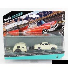 Volkswagen Volkswagen Kharmann Ghia coupe(1960)with camper