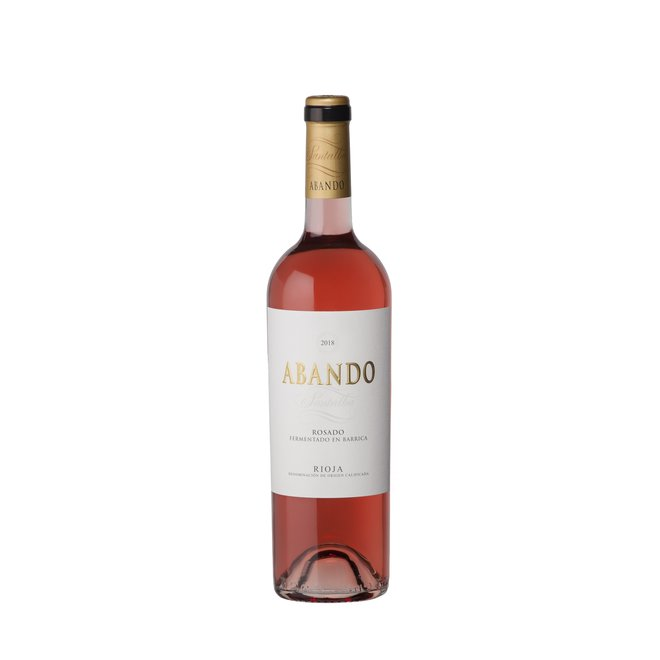 Abando Rioja Barrel Fermented Rosé