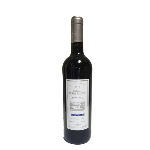 Chateau Terre D'agnes Terre D'Agnes Bordeaux Rouge Cuvée Prestige Mil 2016