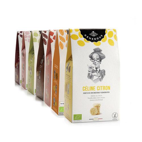 Generous Céline Citron koekjes - 120gr