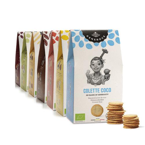 Generous Colette Coco koekjes - 100gr