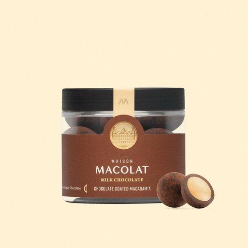 Maison Macolat Milk Chocolate Macadamia - 100gr