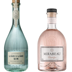 'Mirabeau' & 'Lind & lime' Gin duo set