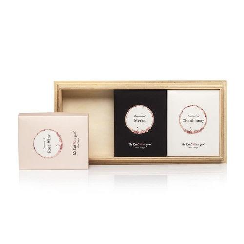 VINOOS VINOOS Trio on wood Gift Box