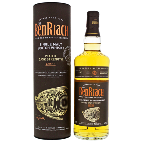 Benriach Peated Cask Strenght Batch 1