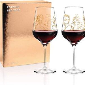 Ritzenhoff Ritzenhoff rode wijnensemble - Burkhard Neie (Pan & Selene | Zeus & Leda)