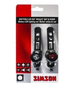 Simson Verlichtingset Bullet 1 led