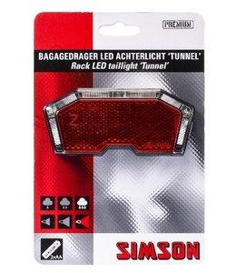 Simson Achterlicht  Tunnel  op drager