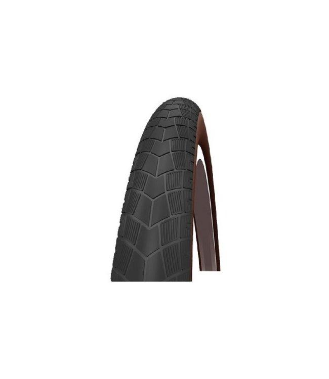 Impac Bigpac buitenband 28x2.00 (50-622) zwart-bruin