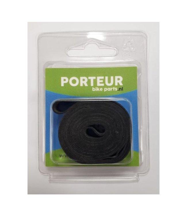 """Porteur Velglint rubber 26""""-28"""" 14mm"""