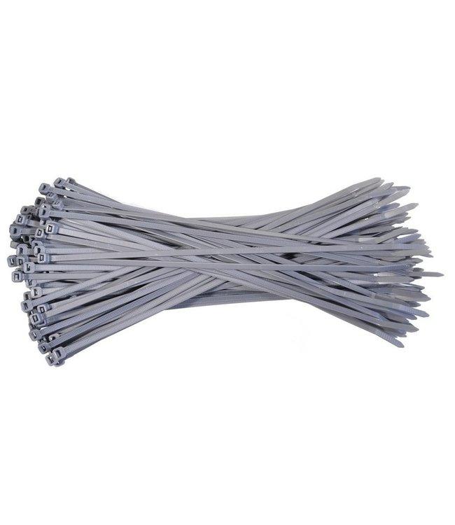 Porteur Kabelbinder 100st  140x3.6 mm grijs